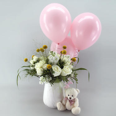 Sweet Blessings Pink Package | Buy Flowers in Dubai UAE | Gifts