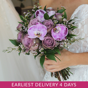 Lovestruck Hand-tied Bridal Bouquet | Buy Bridal Bouquets in Dubai UAE | Wedding flowers