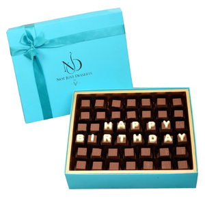 NJD Happy Birthday Chocolates Box | Buy Chocolates in Dubai UAE | Gifts