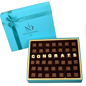 NJD Congrats Chocolate Box | Buy Chocolates in Dubai UAE | Gifts