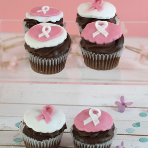 Think Pink Awareness Cupcakes | Buy Desserts in Dubai UAE | Gifts