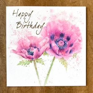Happy Birthday Purple Premium Card | Buy Birthday Cards in Dubai UAE | Gifts