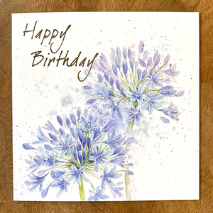 Happy Birthday Blue Premium Card | Buy Birthday Cards in Dubai UAE | Gifts