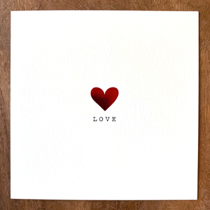 """LOVE"" Card 