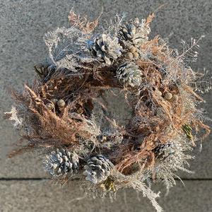 Holly Christmas Flower Wreath   Buy Christmas Trees in Dubai UAE   Gifts