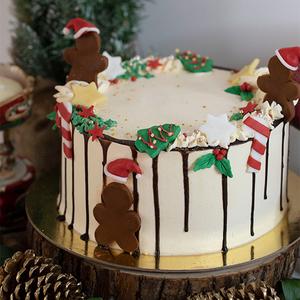 Christmas Cake by Pastel  Buy Christmas Flowers in Dubai UAE   Gifts