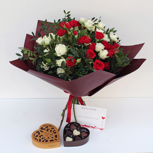 Sweetheart Love with Chocolates | Buy Flowers in Dubai UAE | Gifts