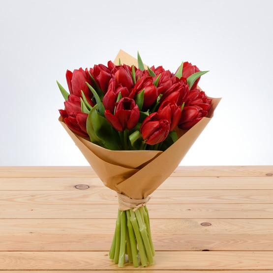 Firecracker Love Tulips | Buy Flowers in Dubai UAE | Gifts