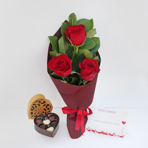 Love Always Package with Chocolates | Buy Flowers in Dubai UAE | Gifts
