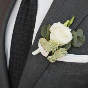Heaven Scent Boutonniere | Buy Bridal Bouquets in Dubai UAE | Wedding flowers