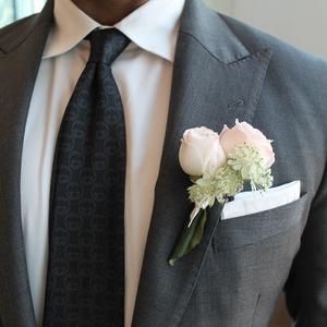 Cherish Boutonniere | Buy Bridal Bouquets in Dubai UAE | Wedding flowers