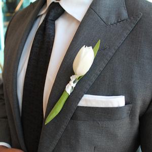 Loyal Love Boutonniere | Buy Bridal Bouquets in Dubai UAE | Wedding flowers