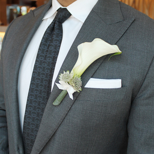 Pure Love Boutonniere | Buy Bridal Bouquets in Dubai UAE | Wedding flowers