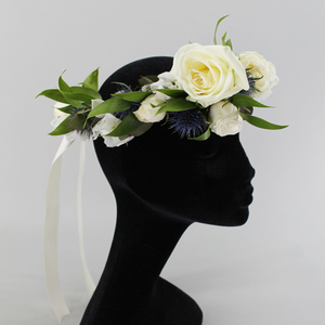 Blissful Head Piece | Buy Bridal Bouquets in Dubai UAE | Wedding flowers