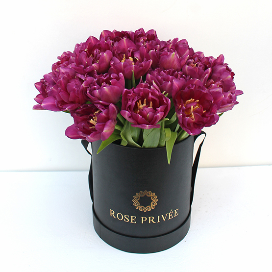Splendid Purple Tulips | Buy Flowers in Dubai UAE | Gifts