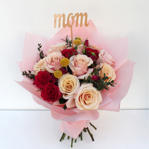 Only the Best for Mum with Mom Topper | Buy Flowers in Dubai UAE | Gifts