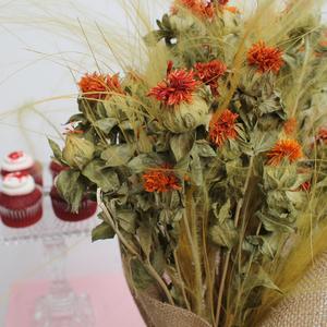 Long Lasting | Fabulous Stypha (Dried) | Red Velvet Package | Buy Flowers in Dubai UAE | Gifts