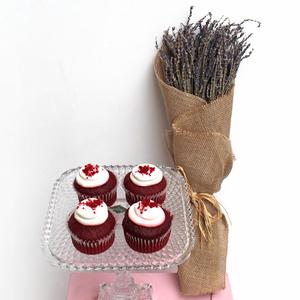Long lasting   Lavender Feel  (Dried)   Red Velvet Package   Buy Flowers in Dubai UAE   Gifts