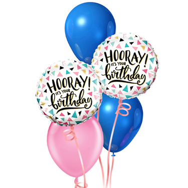 Happy Birthday Balloon Package | Buy Balloons in Dubai UAE | Gifts