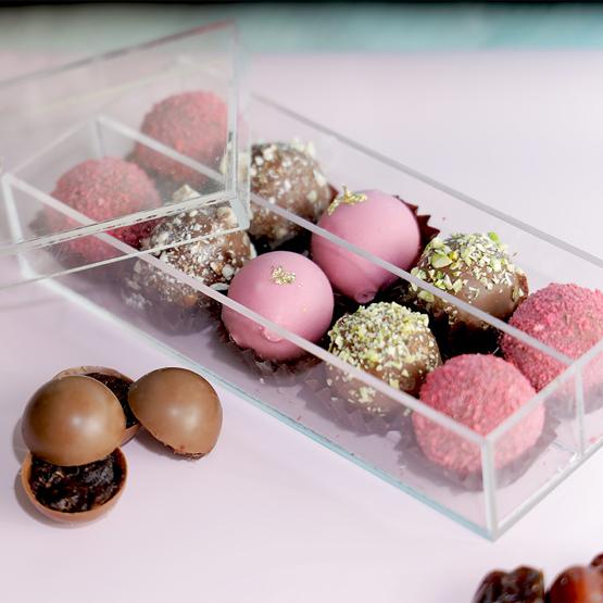 10pcs Luxury Truffles by NJD | Buy Chocolates in Dubai UAE | Gifts