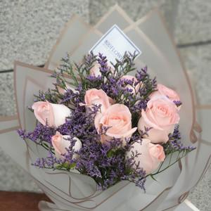 Elsa Pink Flower Bouquet | Buy Flowers in Dubai UAE | Gifts