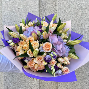 Violet Inspiration Bouquet | Buy Flowers in Dubai UAE | Gifts