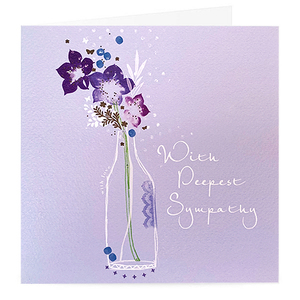 With Deepest Sympathy Card | Buy Cards in Dubai UAE | Gifts
