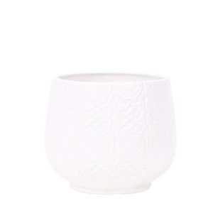 Ceramic Vase White - Medium