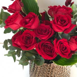 Red Heart Arrangement | Buy Flowers in Dubai UAE | Flower Bouquet
