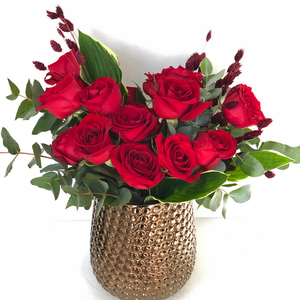 Red Heart Arrangement | Buy Flowers in Dubai UAE | Flower Bouquet