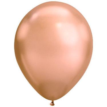 Chrome Rose Gold Rubber Balloon   Buy Balloons in Dubai UAE   Gifts