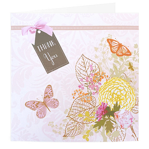 Thank you Butterfly Premium Card | Buy Stationary in Dubai UAE | Gifts