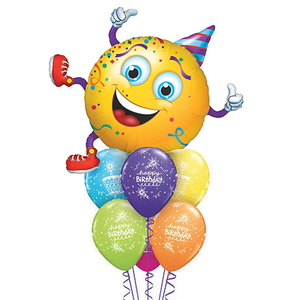 Giant Smiley Party Guy Birthday Balloon Package (with 6 Balloons)   Buy Balloons in Dubai UAE   Gifts