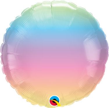 Pastel Ombre Foil Balloon   Buy Balloons in Dubai UAE   Gifts