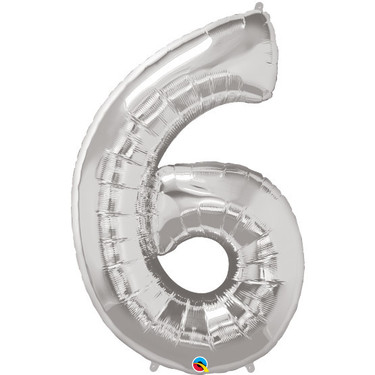 Super Shape Number 6 Foil Balloon | Buy Balloons in Dubai UAE | Gifts