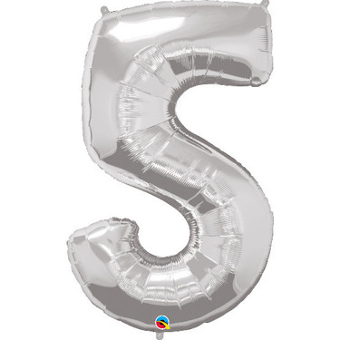 Super Shape Number 5 Foil Balloon | Buy Balloons in Dubai UAE | Gifts