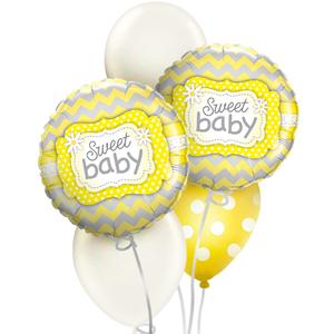 Sweet Baby Cute Balloon Bouquet | Buy Balloons in Dubai UAE | Gifts