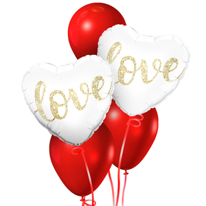 Forever Love Balloon Bouquet | Buy Balloons in Dubai UAE | Gifts