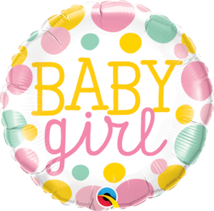 Baby Boy Dots Round Foil Balloon | Buy Balloons in Dubai UAE | Gifts