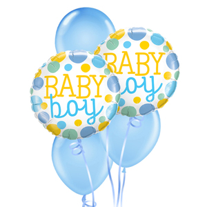 Welcome Baby Boy Balloon Bouquet | Buy Balloons in Dubai UAE | Gifts