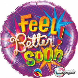 Feel Better Soon Foil Balloon | Buy Balloons in Dubai UAE | Gifts